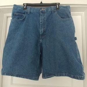 Wrangler - denim carpenter shorts